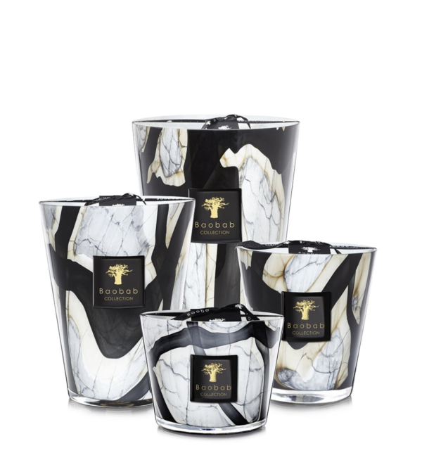 Bougie Marble Baobab Collection