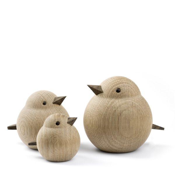 Oiseaux en bois