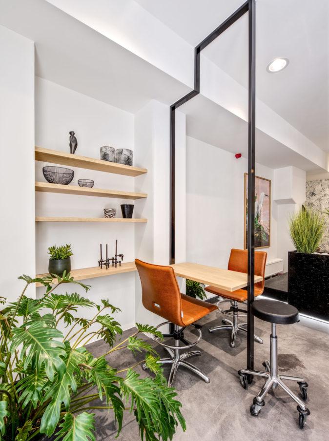 Desk maquillage jungle