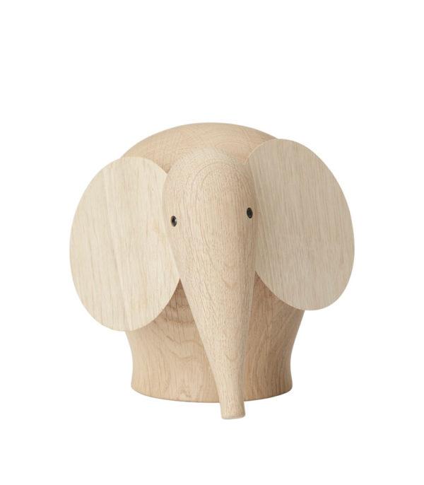 Éléphants en bois