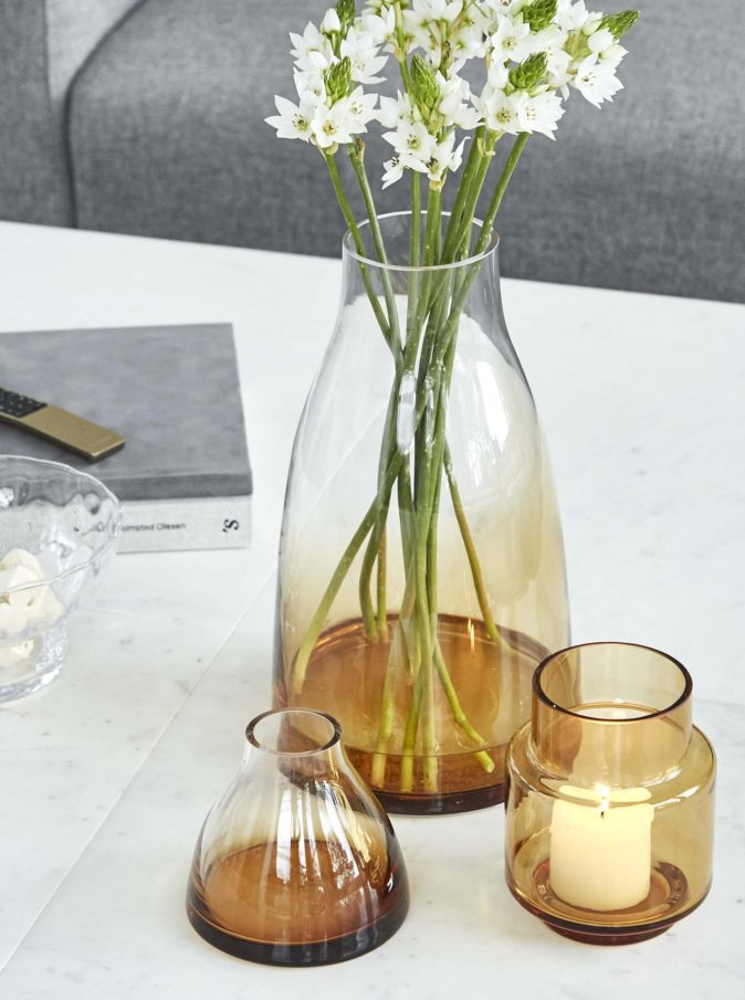 vase jaune Ro collection