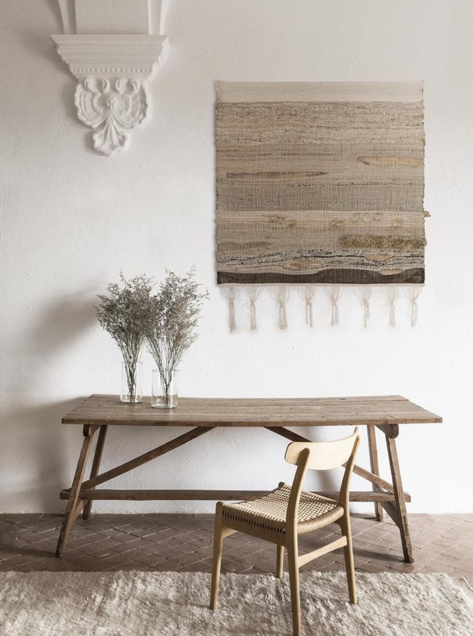 Wellbeing wool chobi rug and tapestry