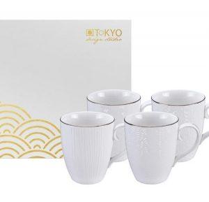 4 mugs Nippon White