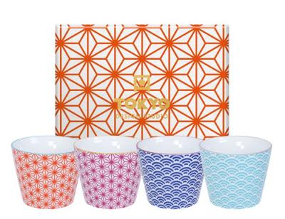 Set de 4 tasse à Thé de Tokyo Design