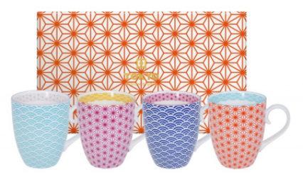 Set de 4 Mug de Tokyo Design