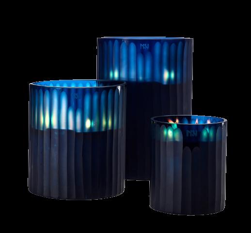 Bougies Royal Blue