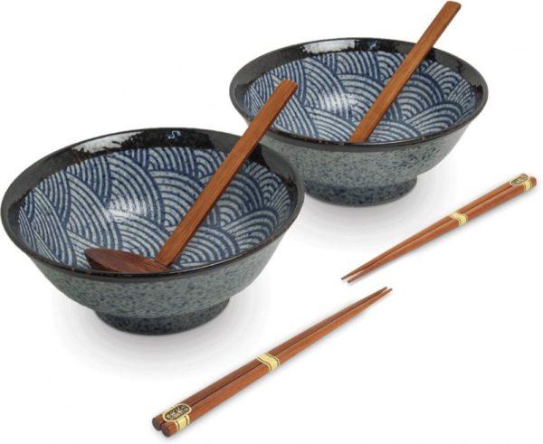 Bols à Ramen Tokyo Design Edo Wave