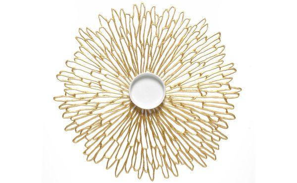 Set de Table Bloom Gold